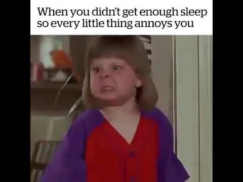 When You Didn T Get Enough Sleep And Everything Annoys You Gif Youtube Work Quotes Funny Funny Memes Sarcastic Memes Sarcastic
