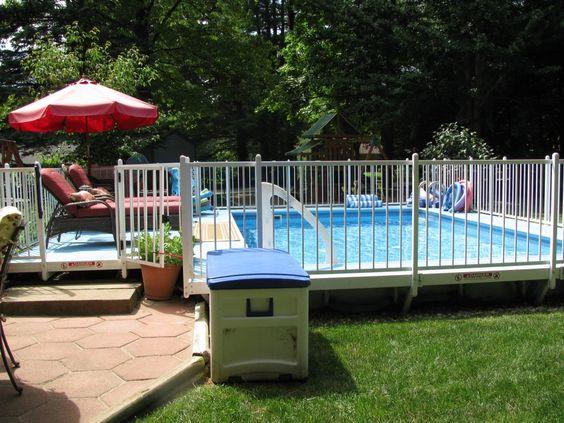 Kayak pools midwest sem ohio landing page pool for Above ground pool decks indianapolis