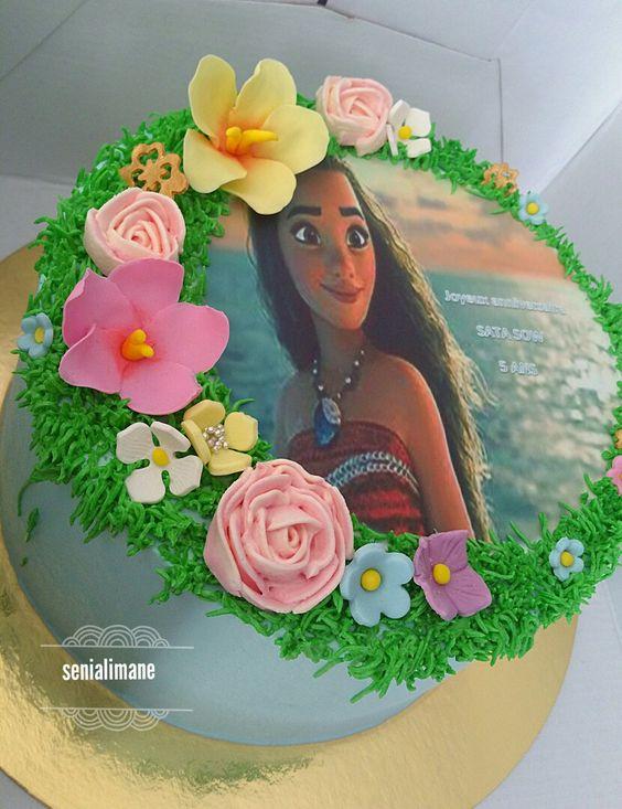 Pastel-para-fiesta-de-moana (15) - Decoracion de Fiestas Cumpleaños Bodas, Baby shower, Bautizo, Despedidas