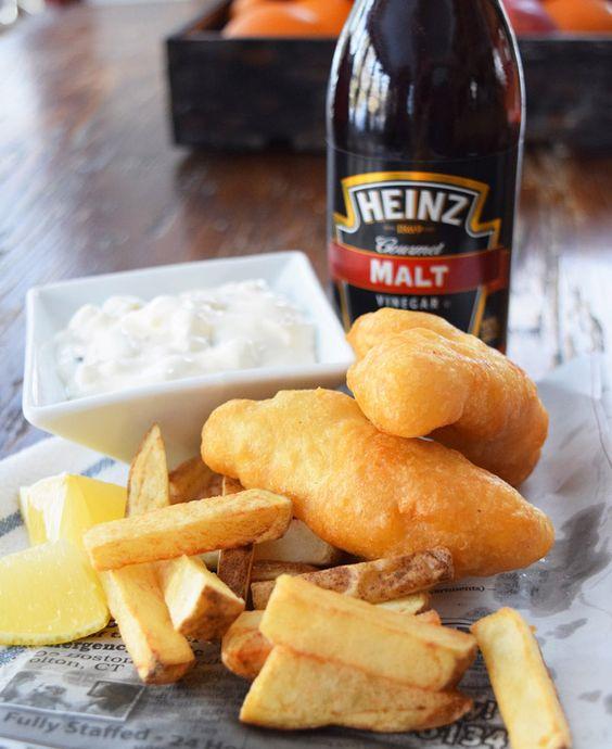 Beer battered fish, Battered fish and Fish and chips on Pinterest