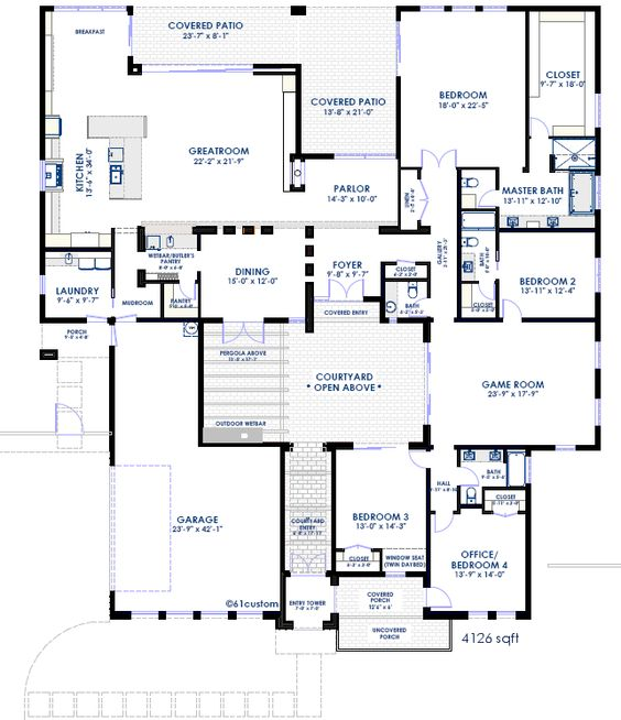 House Plans House And Modern On Pinterest