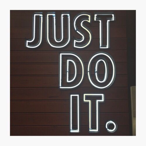 Led signs, Just do it and LED on Pinterest