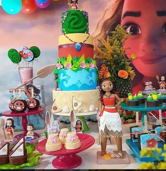 Birthday Party Moana Candy Bar Moana Dessert Table Ideas Party