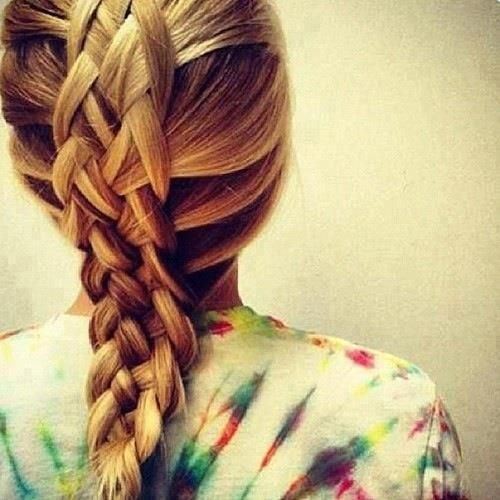 five strand french braid | Sonja | Pinterest | Französische Zöpfe ...
