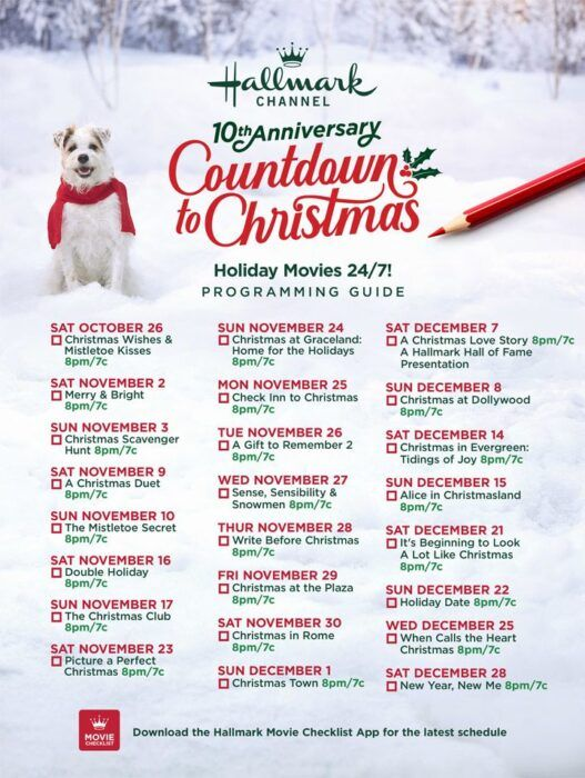 Hallmark S Entire Christmas Movie Schedule Is Here And It S Starting This Week Hallmark Christmas Movies Christmas Movies Hallmark Christmas Movies List