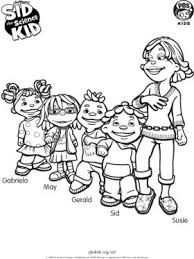 sid the science kid coloring pages - Google Search ...