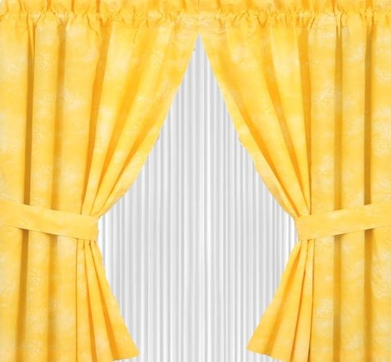 yellow curtains yellow window curtains yellow kitchen curtains