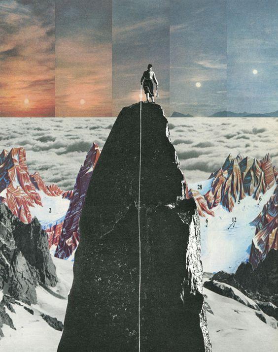 Vintage & Surreal Collages by Sammy Slabbinck