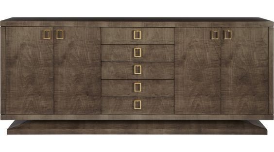 LUXURY FURNTIURE modern sideboard design for your home - boca do lobo sideboard designs