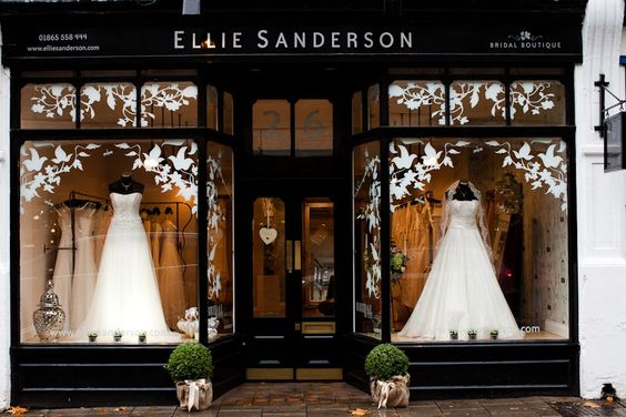 bridal boutiques | We have come across the most gorgeous wedding dress boutique ELLIE ...