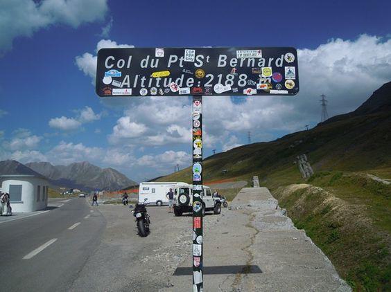 Colle del Piccolo San Bernardo. Passo-Colle sul confine tra Francia e Italia, realizzato per raggiungere il #ColDIseran