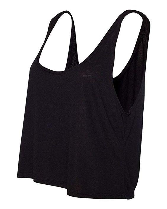 Bella + Canvas 8880 Ladies Boxy Tank at Amazon Women's Clothing store: