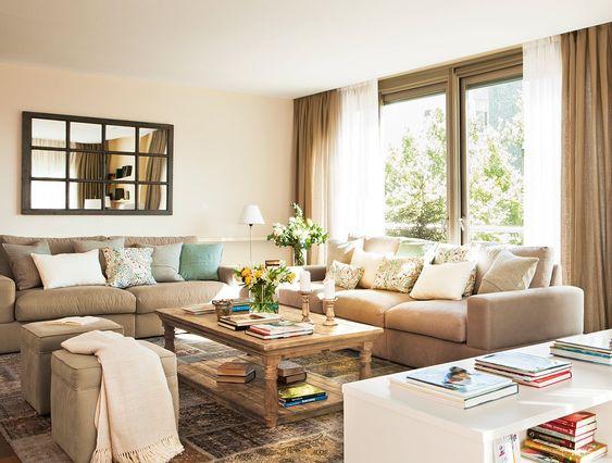 Un piso cómodo y muy práctico · ElMueble.com · Casas