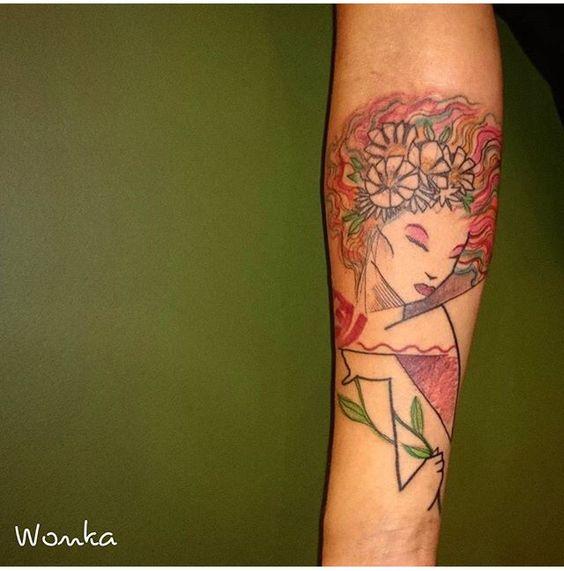 Tattoo by Wonka