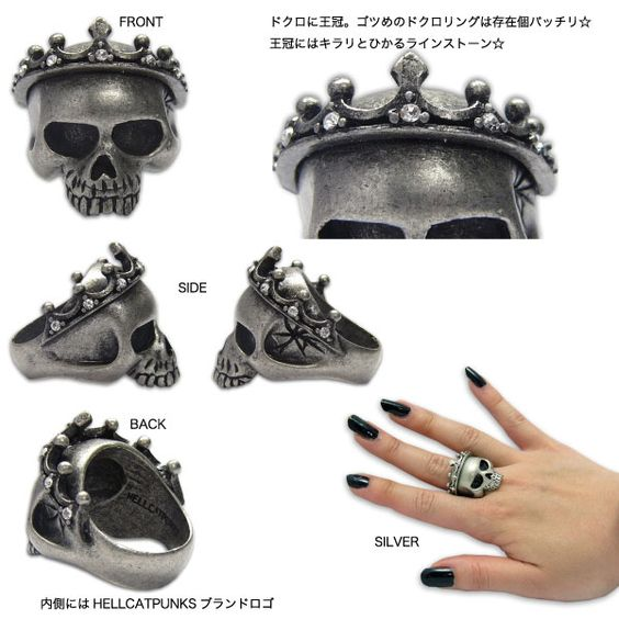 Pretty but pricey. http://www.hellcatpunks-online.com/shopdetail/001006000005/order/