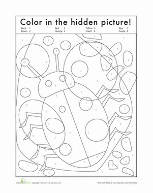 Number Names Worksheets : color by numbers worksheets for ...