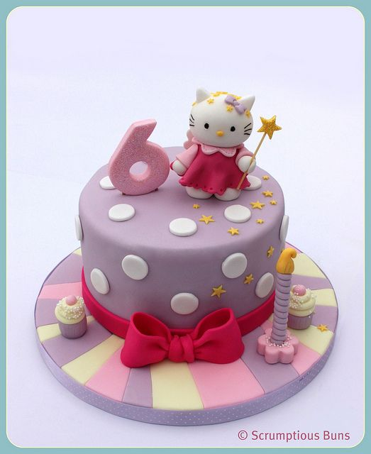 Hello Kitty Birthday Cake Idea