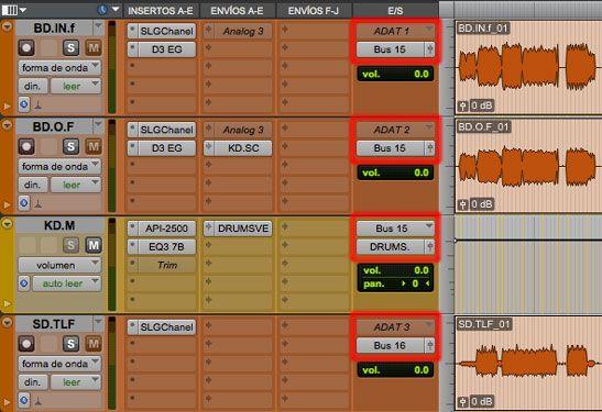 ventana edicion ruteos, 5 herramientas de pro tools para produccion musical, http://promocionmusical.es/produccion/: