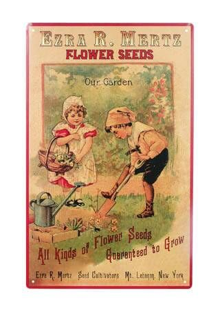Creative Country Mom's Garden: Vintage Seed Packets