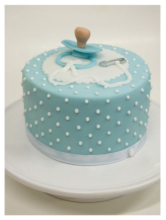 shower cakes cakes for baby showers blue a beautiful dots beautiful