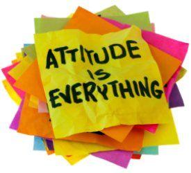 Good attitude=good results!