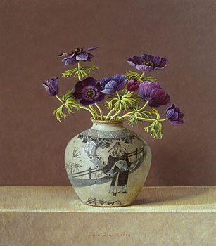 Donkere anemonen 2009 (35 x 30 cm):
