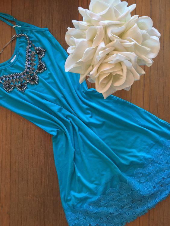 Azul ... cor perfeita para o verão!!!