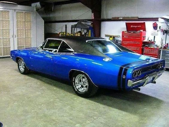 Looks nice in blue…. agree?  #classic #cars #custom