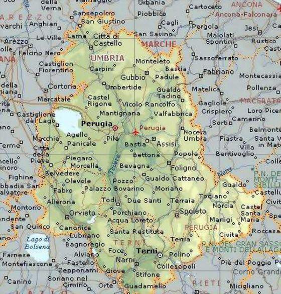 Cartina Stradale Umbria Da Stampare.Risultati Immagini Per Umbria Cartina Geografica Geografia Umbria
