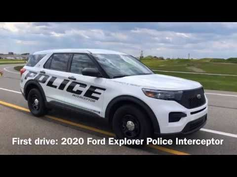 Newest 2020 Ford Utility Police Interceptor In 2021 2020 Ford Explorer Ford Police Interceptor