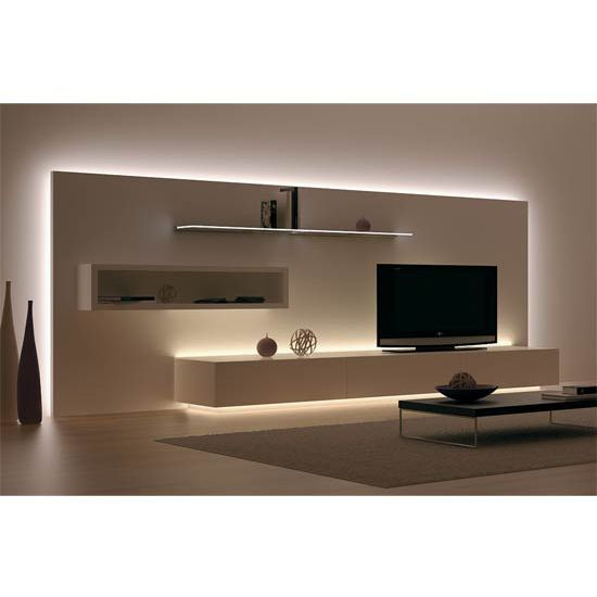 Able To Last Up To 25 Years Or More This Hafele Loox 12v Led 2011 Flexible Str Living Room Design Modern Led Living Room Lights Living Room Lighting