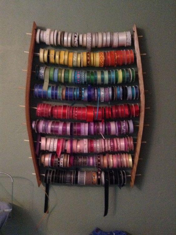 Ribbon organized