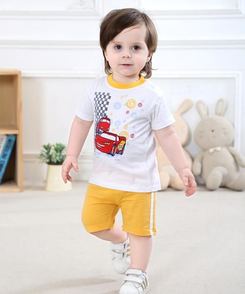 0-2Years,SO-buts Infant Baby Boy Kid Summer Fashion Casual Letter Printed T Shirt Tops+Camouflage Shorts Outfits Set