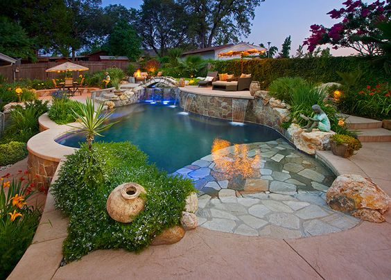 Pinterest the world s catalog of ideas for Quality pool design
