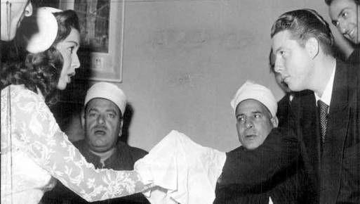 رجال في حياة فراشة الشاشة سامية جمال غاوي سينما Historical Figures Couple Photos Photo