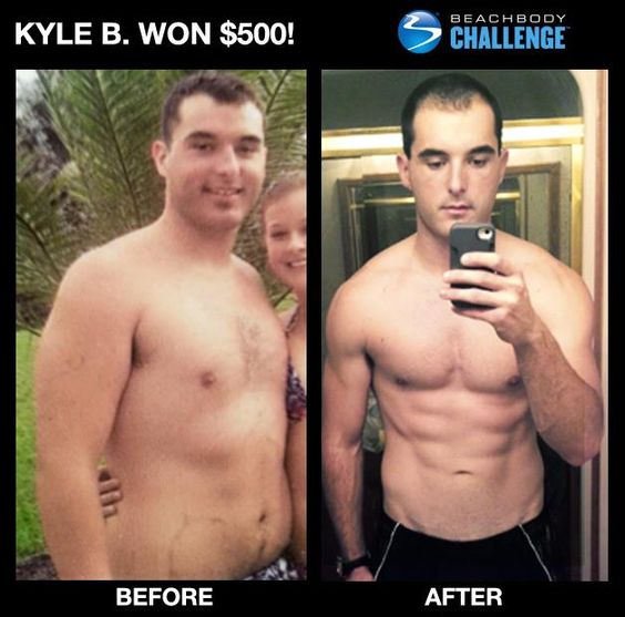 Way to go Kyle. Great job. You can change too. You could be the next winner of $500 or up to $100,000. Ask me how. www.ryanwilliamsfitness.com