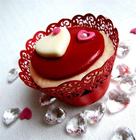 Champagne sponge cupcake