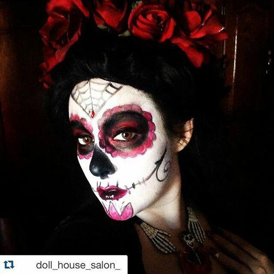 sugar skull - morgana graves (abigail von doll) https://i.instagram.com/abigailvondoll/