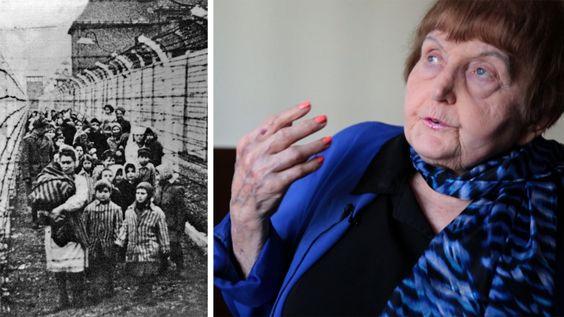 """""""Ich habe den Nazis vergeben"""": Holocaust-Überlebende Eva Mozes besucht NS-Prozess"""