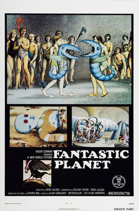 La planète sauvage (Fantastic Planet) - René Laloux