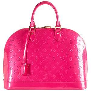 Louis Vuitton Alma Bag-This is my all time favorite style and you can't beat the color and embossed style.  I WANT IT!!!!!