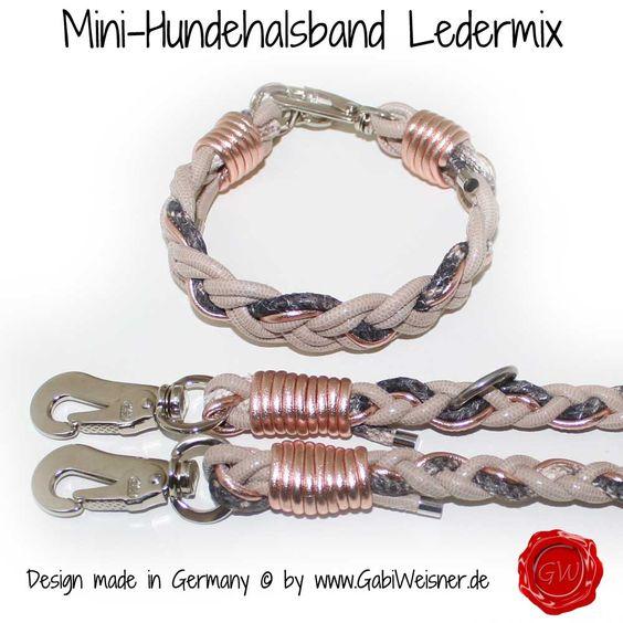Mini-Hundehalsband Set