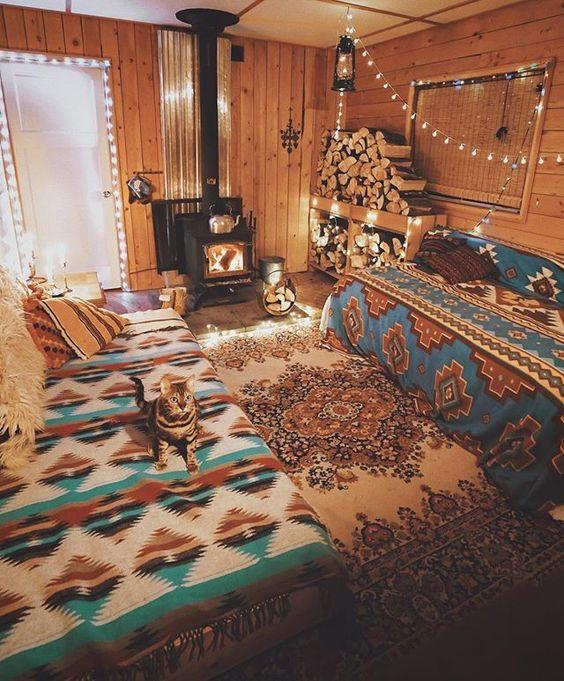 I like my cabins cozy ✨
