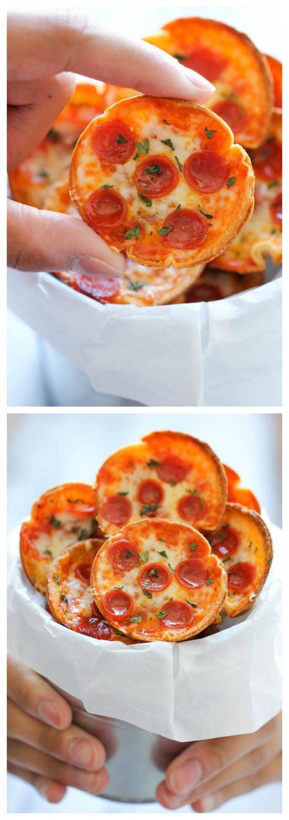 Deep dish, Pepperoni and Pizza bites on Pinterest