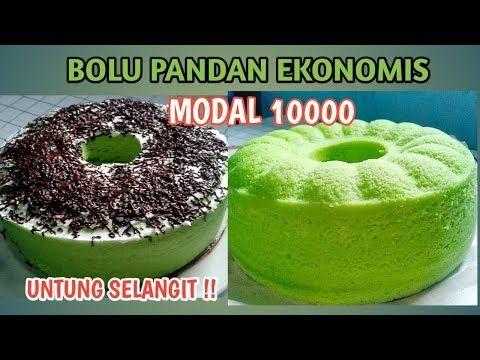 Bolu Kukus Pandan Irit Untung Selangit 2 Telur Youtube Makanan Resep Masakan Indonesia Kue Mentega