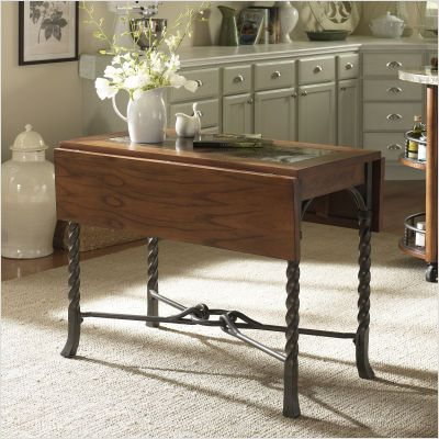 Magnificent Rectangular Drop Leaf Dining | DR/Kitchen ...