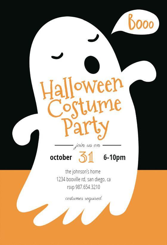 Free Halloween Invitation Templates Boos Halloween Par Halloween Party Invitation Template Halloween Birthday Invitations Printable Halloween Party Invitations