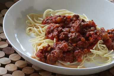 Southern Meat Sauce for Pasta - Photo: Diana Rattray