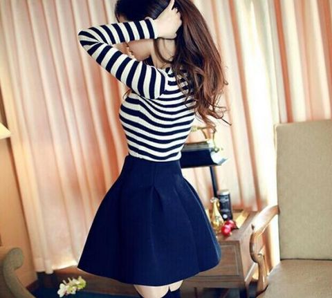 Design high waist skirts #AD82603Y