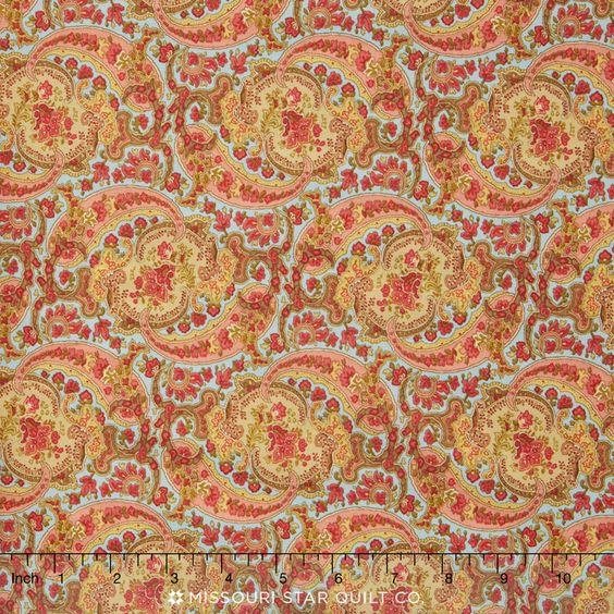 Autumn Lily - Rainwater Yardage - Blackbird Designs - Moda Fabrics